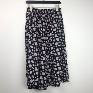 Vintage Maggie Lawrence • Floral Maxi Skirt
